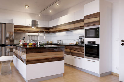 PVC Kitchen Cabinets In Coimbatore